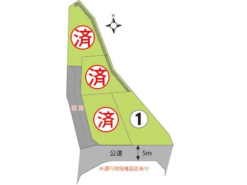 三島市  サンステージ壱町田  第6期  全4区画