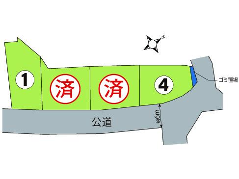 沼津市  サンステージ上石田  第3期  全4区画