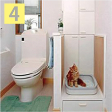 ペット専用トイレ